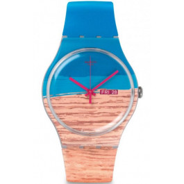 Часы Swatch Blue Pine SUOK706