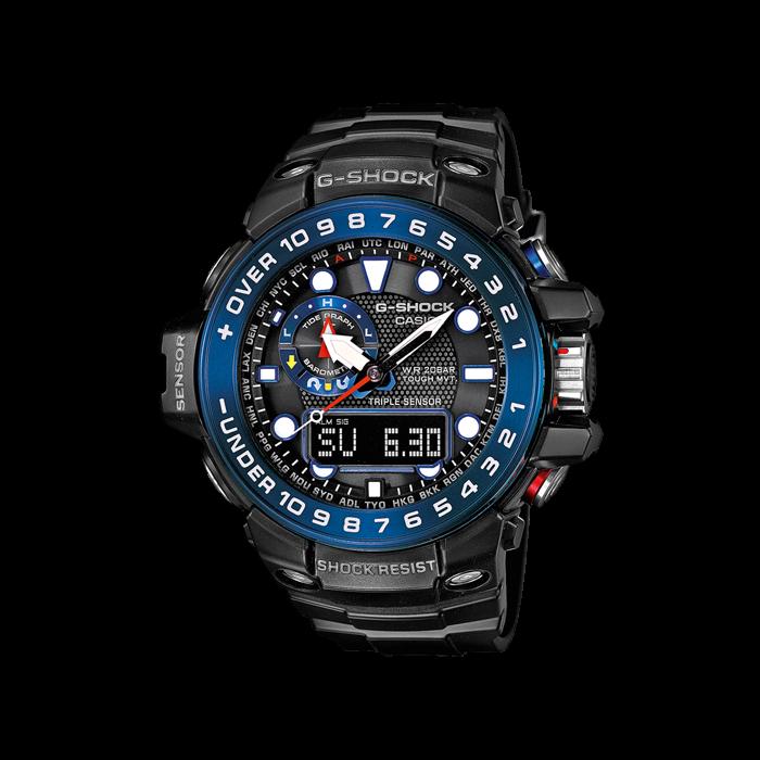 Часы Casio G-Shock Gulfmaster GWN-1000B-1BER