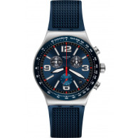 Swatch Blue Grid YVS454