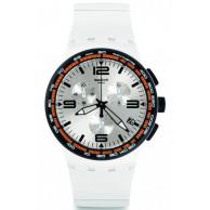 Часы Swatch White Blades SUSW405 ZIFFERBLATT.UA