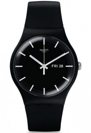 Часы Swatch MONO BLACK SUOB720 ZIFFERBLATT.UA