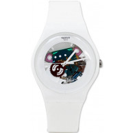 Swatch White Laquered SUOW100