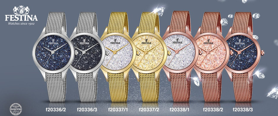 FESTINA MADEMOISELLE с кристаллами Swarovski® Crystals