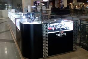 ТЦ Фабрика, киоск Tissot-Calvin Klein-Swatch, 2-я очередь, ул. Залаегерсег, 18